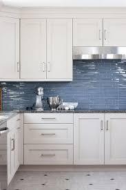kitchen blue glass backsplash. Delighful Blue Blue Glass KItchen Backsplash Tiles In Kitchen L