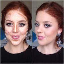 contour for pale redhead google search