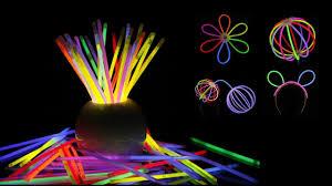 Glow Light Toys Party Favors Light Up Toys Mixed Colors Glow Light Stick Bracelets