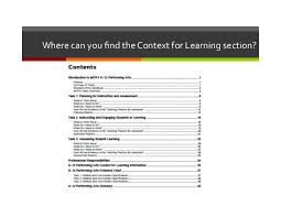 Edtpa Online Module 4 Context For Learning