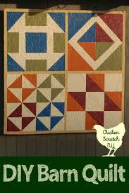 Barn Quilt Patterns Delectable Barn Quilt Tutorial