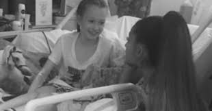 Ariana Grande Surprises Young Fans Injured In Manchester Attack.
