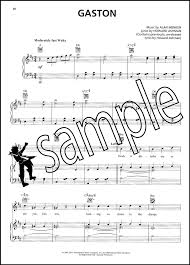 beauty and the beast sheet music beauty and the beast piano vocal guitar sheet music book movie film