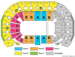 Intrust Bank Arena Tickets And Intrust Bank Arena Seating
