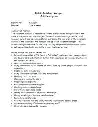 Retail Sales Associate Job Description For Resume Beauteous Resume For Retail Sales Associate Description Sample Objective