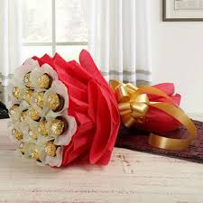 hyderabad gifts delivery ferrero rocher bouquet in hyderabad