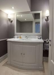 bathroom vanity units elegant curved