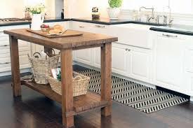 Rustic Reclaimed Wood Kitchen Island