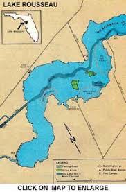 Lake Rousseau Information Guide Florida Lakes