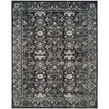 evoke charcoal ivory 8 ft x 10 ft area rug
