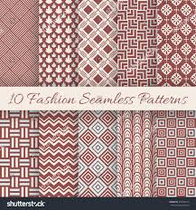 Illustrator Texture Seamless Pattern Border With Colored Paper L