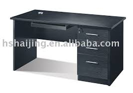 black office table. Remarkable Decoration Office Computer Table Photo, Detailed About Black S