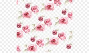 Rose Flower With Paper Paper Rose Flower Pattern Rose Print Png Download 564 524 Free
