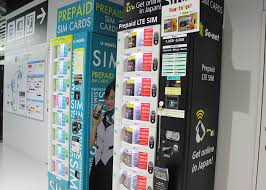 Japan Sim Card Vending Machine Interesting The Complete Guide To Narita Airport All Terminals LIVE JAPAN
