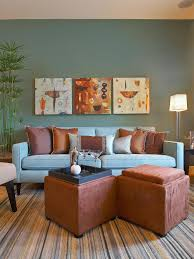 Living Room Blue Color Schemes Brown And Blue Living Room Color Schemes House Decor