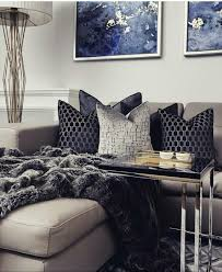 Beautiful Blue And Silver Living Room Designs Silver Living Room Silver And Blue Living Room