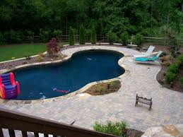 Pool Landscape Design Contemporary Simple Pool Landscaping Ideas Inground Designs Double