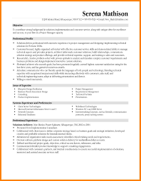 10 Managerial Resume Objective Informal Letters