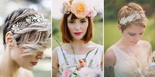 Coiffure De Mariée Pour Cheveux Courts Nos 14 Idées