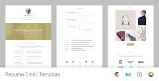 Resume Responsive Email Template Online Editor By HyperPix Mesmerizing Online Resume Editor