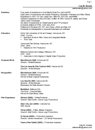 Resume Categories Awesome 4511 Resume Cale M Werake