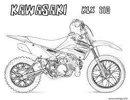 Coloriage Motocross 36 Dessin