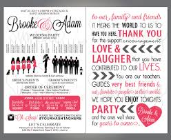 wedding reception program templates free download diy wedding ideas silhouette wedding program