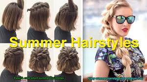 Hair Style For Medium Hair easy & cute short summer hairstyles easy summer hairstyles for 4202 by wearticles.com