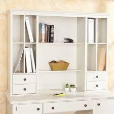 white desk with hutch. White Desk With Hutch