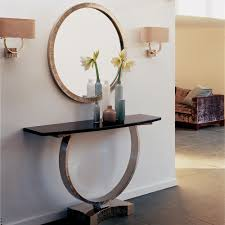 entrance tables furniture. Round Omega Mirror - Bronze. Wall TablesConsole Entrance Tables Furniture N