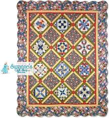 Patchwork Party Quilt Finishing Kits | 12 Quilt Shops | Quilt ... & Suzanne's Quilt Shop Finishing Kit Adamdwight.com