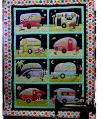 Rumpled Quilt Skins class Campers or Welcome Home Appliqué &  Adamdwight.com