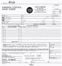 auto repair forms eco 674 3 smog check auto repair order form 3 part carbon 8 5 x 8 5