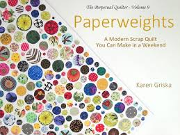 Scrap Quilt Patterns Magnificent Paperweights Quilt Pattern Modern Scrap Quilt Easy Quilt Etsy