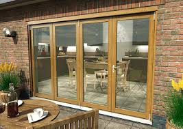 brilliant bifold exterior patio doors bi fold sliding exterior doors