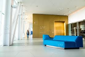 modern interior office stock. Stock Photo, Building, Blue, Gold, Office, Interior, Museum, Couch Modern Interior Office N