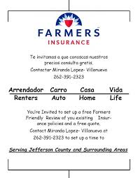 farmers insurance quote captivating scott spoerl farmers insurance agent in fort atkinson wi