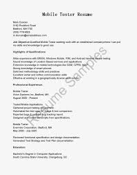 Mobile Device Test Engineer Sample Resume Haadyaooverbayresort Com