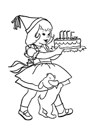 Small Picture Happy Birthday Coloring Pages For Dad Coloring Home