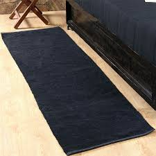bathroom runners cotton stylish on intended for chenille rugs blue black pink orange purple green carpet