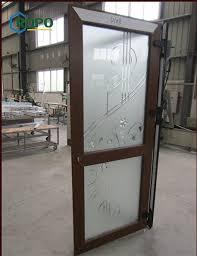 china residential entry doors pvc upvc