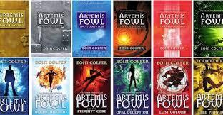 artemis fowl books like harry potter