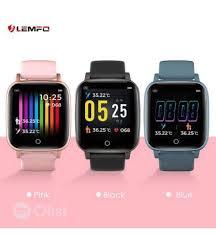 Lemfo LEMFO T1 <b>Smart Watch</b> Bracelet <b>Body</b> Temperature ...