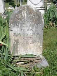 Sallie Hays (1792-1866) - Find A Grave Memorial