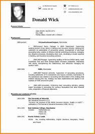 Template Cv Design Free Download Design Examples Sample