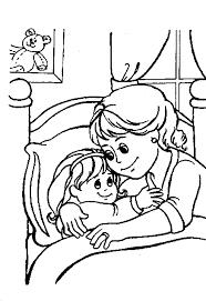 Gratis Meisjes Kleurplaten Voor Kinderen 4