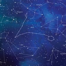 Pisces Constellation Star Chart A Close Up Of The Pisces Constellation On Our Watercolor
