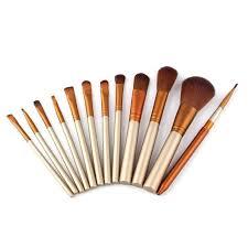 bronson professional brush sets bronson professional mini makeup brushes set of 12 in india nykaa