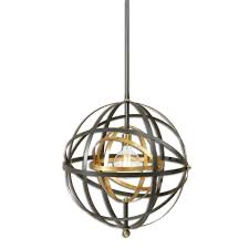 uttermost 22038 rondure contemporary dark oil rubbed bronze finish 22 5 nbsp wide lighting pendant loading zoom