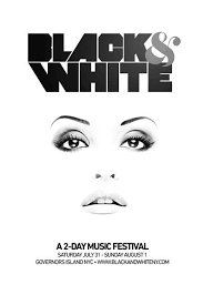 Flyer Black And White Ra The Black White Festival At Governors Island New York 2010